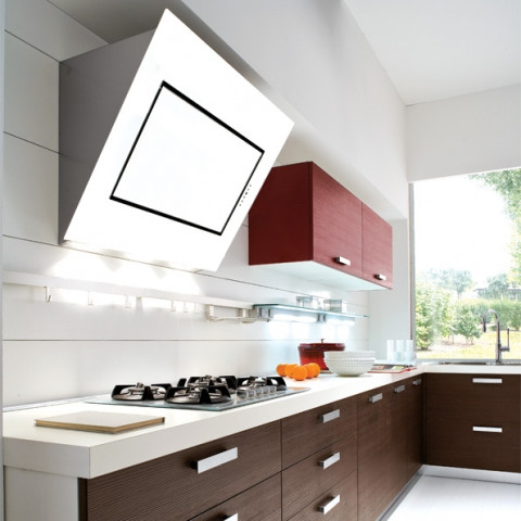 FALMEC QUASAR EVO GLASS 60 white for AU$1,999.00 at ComplexKitchen.com.au