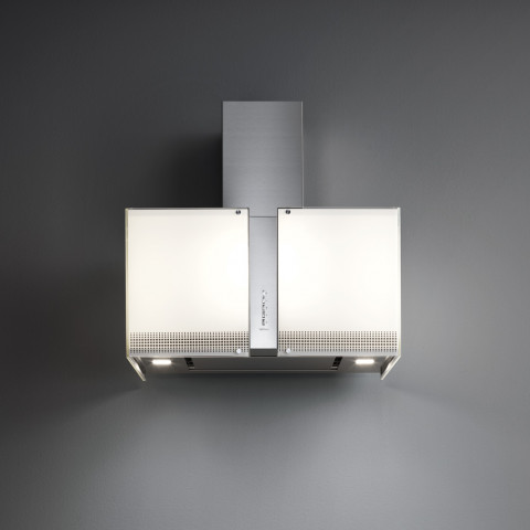 FALMEC MIRABILIA PLATINUM glass (Square 97 wall) for AU$1,099.00 at ComplexKitchen.com.au