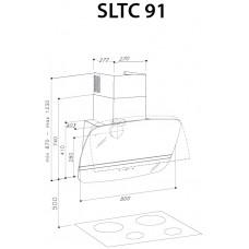 SIRIUS SLTC 91 white glass
