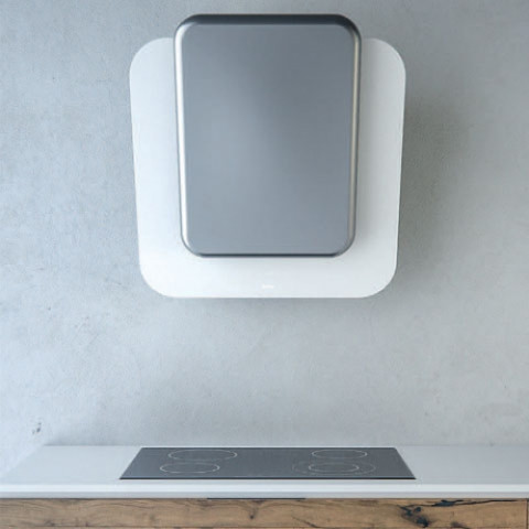 SIRIUS SLTC 103 white glass silver ceramic front panel for AU$1,849.00 at ComplexKitchen.com.au