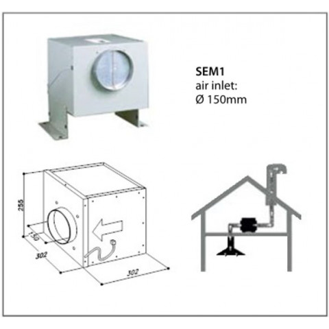 SIRIUS SEM 1 external motor for AU$999.00 at ComplexKitchen.com.au