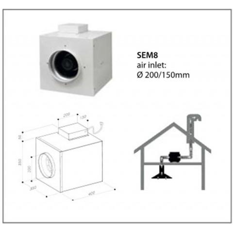 SIRIUS SEM 8 external motor for AU$1,199.00 at ComplexKitchen.com.au